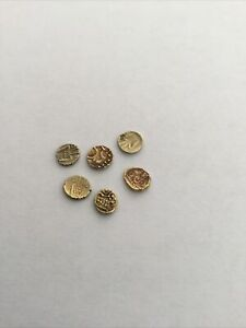 Hoard Of Solid Gold Early 17th Century Coins. Beautiful Detailing . No Reserve !