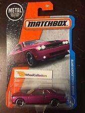 Dodge Challenger SRT8 #21 * PURPLE * Matchbox 2017 * Case G * NE6