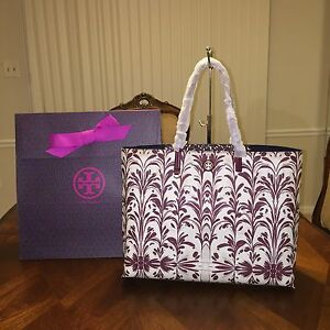 49fd0ed09771 NWT Tory Burch Kerrington Square Tote in Symphony Combo C with Tory ...