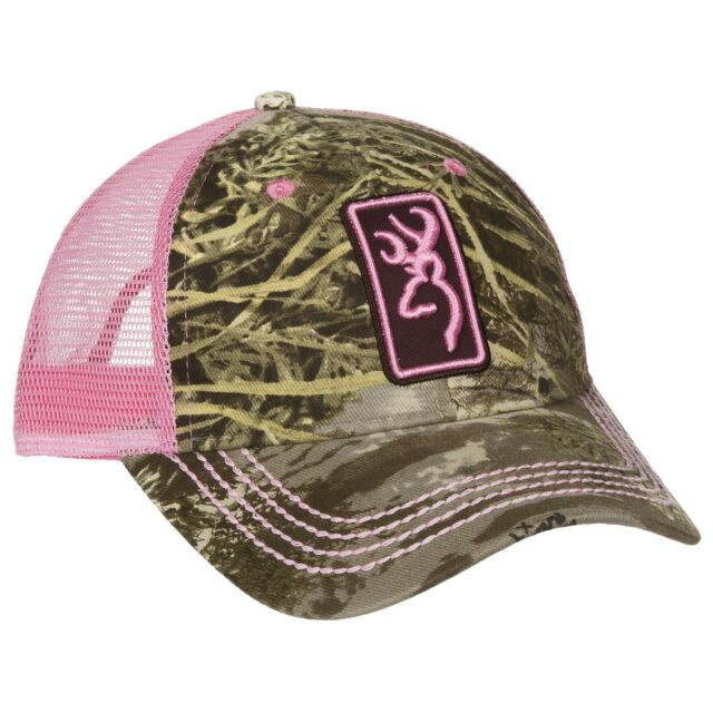 2f453e04c Browning Conway Cap for Her Realtree Max1 Pink