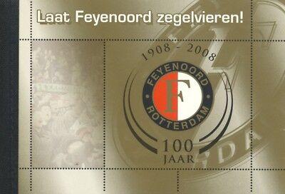 2008 Feyenoord Rotterdam Delicious In Taste Niederlande Markenheft Mh Boekje Fussball Soccer