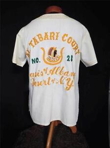 VINTAGE ALBANY 1970'S CREAM EMBROIDERED COTTON BLEND