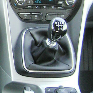 Genuine-Leather-Gear-Shift-Boot-Gaiter-Cover-Sleeve-fit-Ford-C-Max-2009-gt