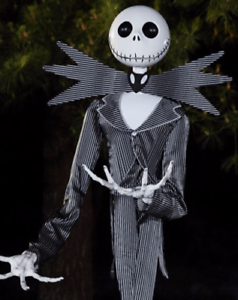 image is loading gemmy 6 ft jack skellington animatronics decorations nightmare - Animatronic Christmas Decorations