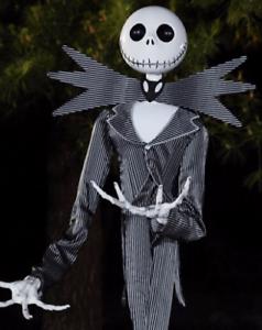 image is loading gemmy 6 ft jack skellington animatronics decorations nightmare - Animatronic Christmas Decorations
