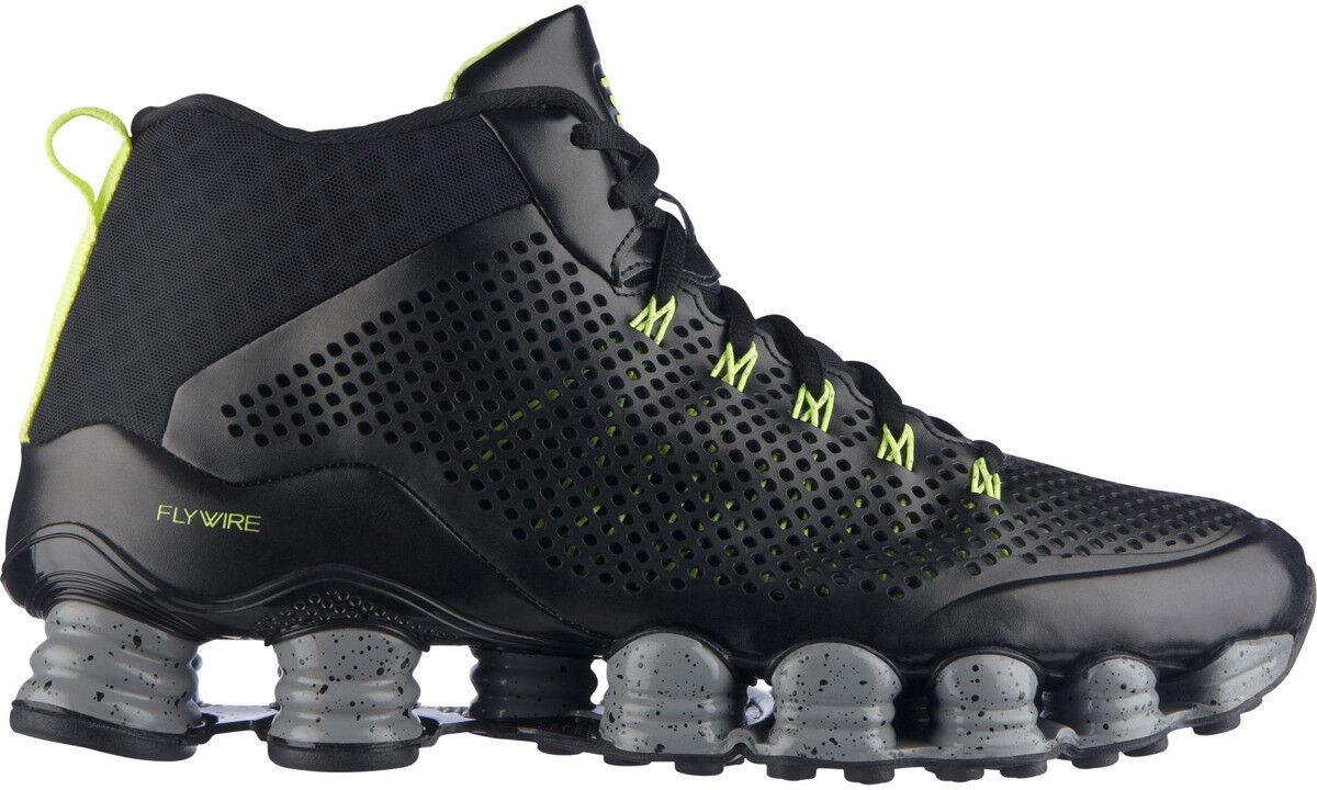 Size 13 Nike Men Shox TLX Mid SP 677737 007 Black Gray