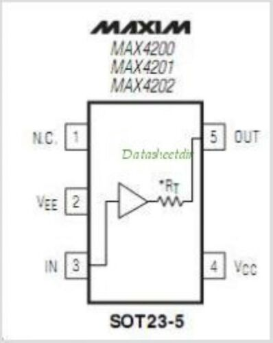 MAXIM MAX4201ESA SMD Ultra-High-Speed Low-Noise