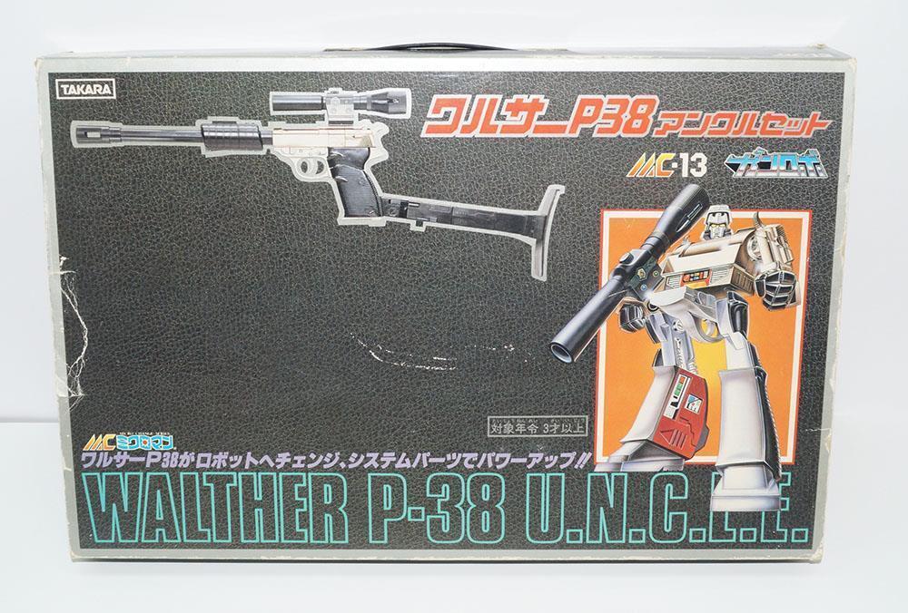 Megatron WALTHER P-38  U.N.C.L.E. MC-13 Gun Robo Micro Change Pre Transformers  marchio in liquidazione