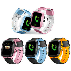 Kids Anti-lost Tracker Smart Watch SOS Call Safe Wristwatch For Android&IOS US
