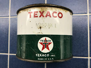 Vintage Texaco MARFAK 1 Grease 1 Pound Contents in Can