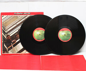 The-Beatles-1962-1966-Double-LP-Vinyl-Record-Album-SKBO-3403-USA-1973