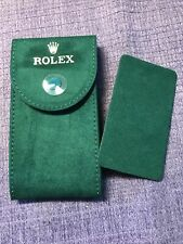 Genuine New Stylerolex Service Velvet Travel Pocket Pouch With Support Plate