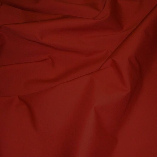 Rouge Cerise Uni En Polycoton Tissu 114 cm Largeur libre p/&p popeline tissu