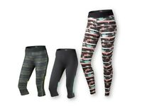Ladies' Performance Leggings Or 3/4 Cropped Trousers Sportswear Fitness S M L