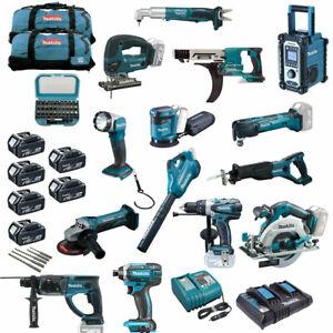 MAKITA-Akku-Werkzeug-MEGA-SET-XXL-20tlg-inkl-DHS680-Handkreissaege-Kreissaege-NEU