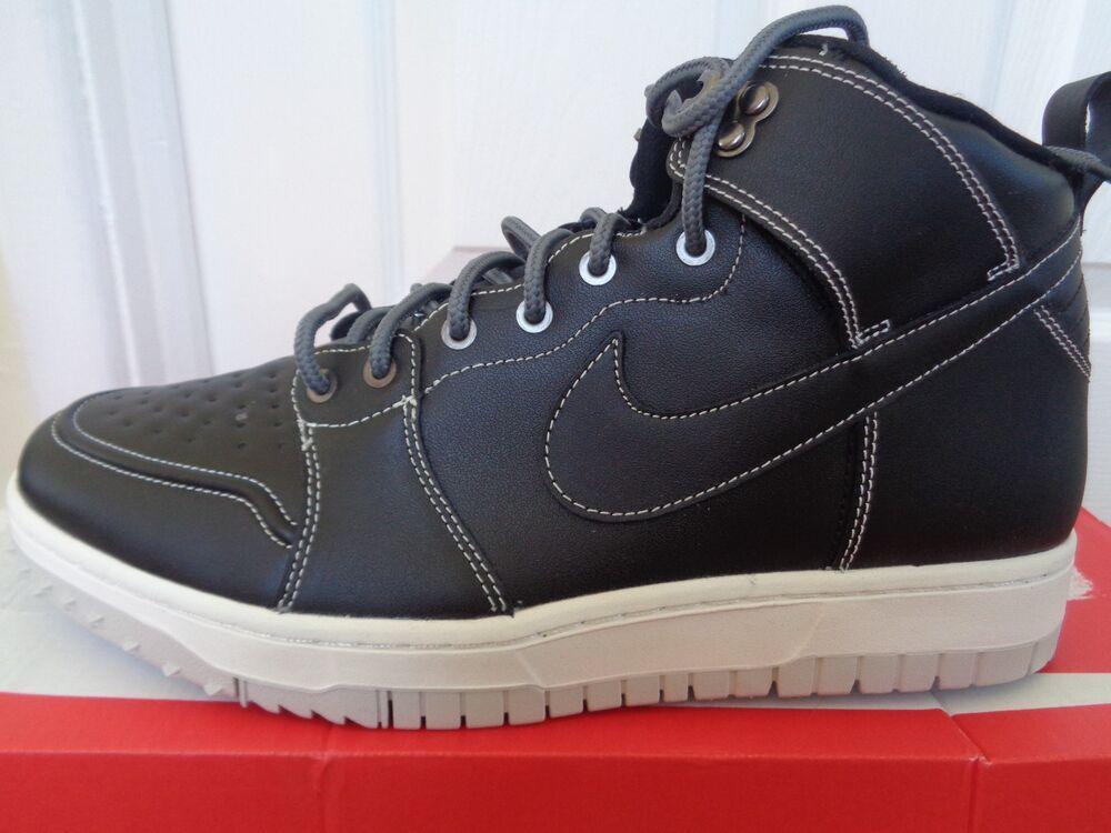 Nike Dunk CMFT WB Homme Bottes Chaussures 805995 001 UK 10 EU 45 US 11 Neuf + Boîte-