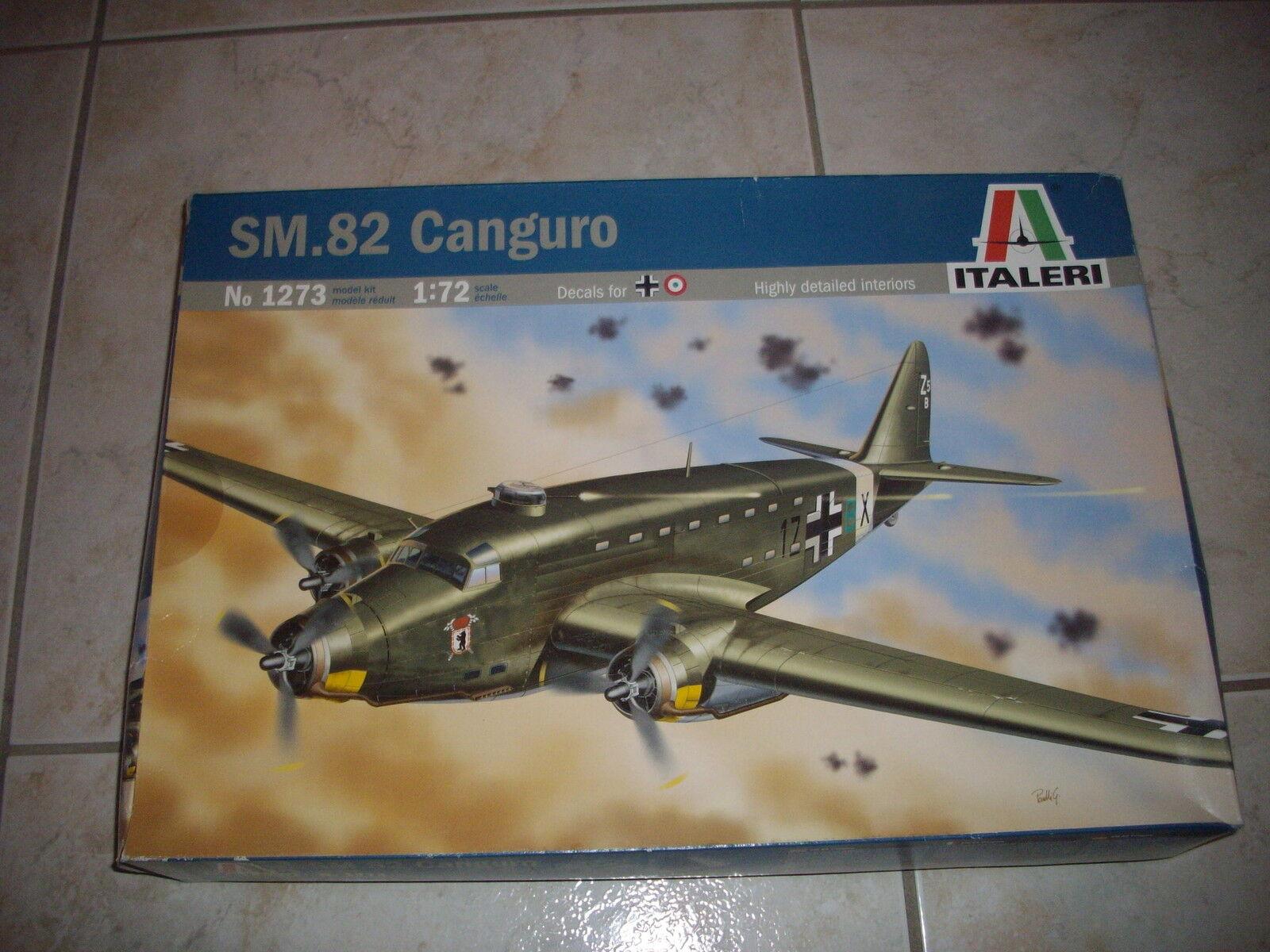 ITALERI SM.82 CANGURO PLASTIC MODEL 1 72