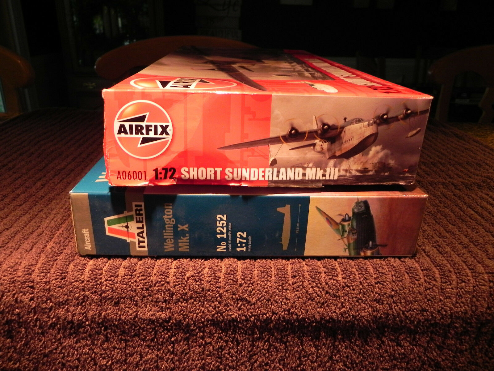 LOT OF 2 1 72 SCALE WW2  BRITISH PLANES