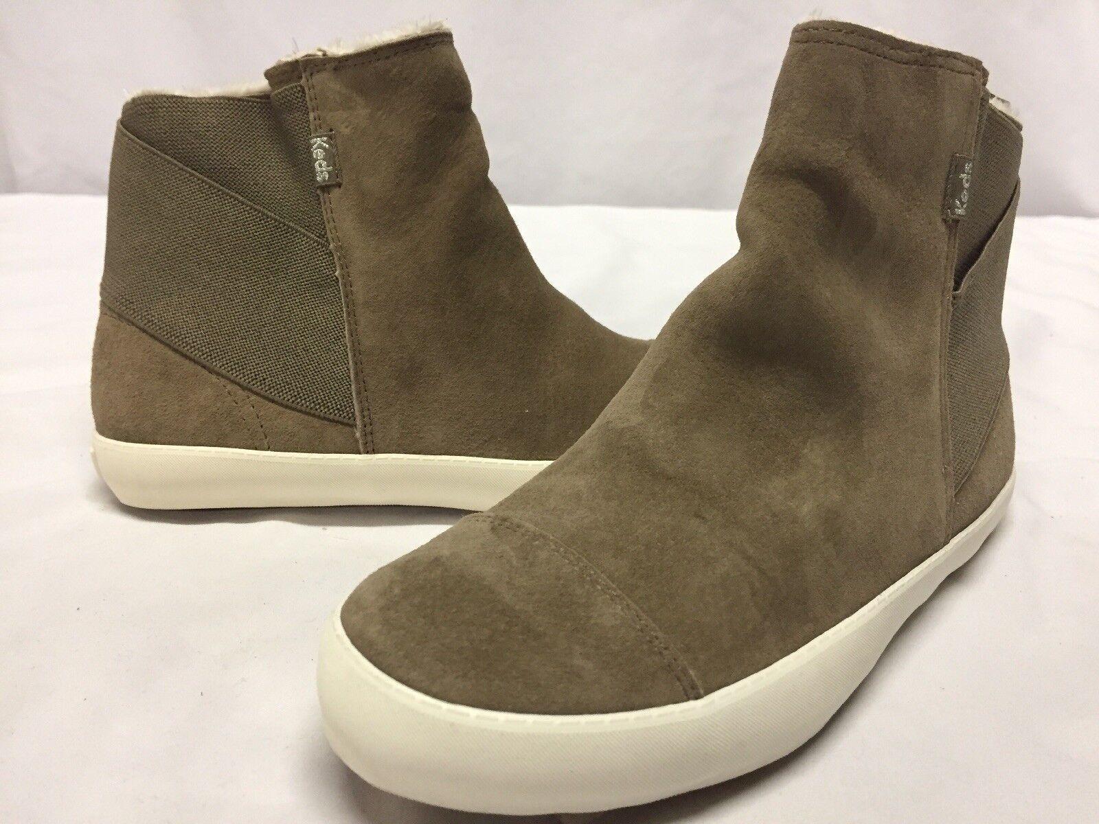 Para mujer botas Invierno Nieve Keds Crosstown, Crosstown, Crosstown, Fossil Gamuza, Talla 6 EUR 36 UK 3.5  online al mejor precio