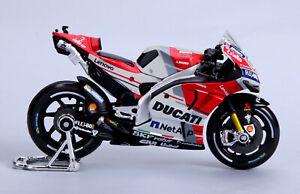 Maisto-1-18-MOTOGP-2018-Ducati-Desmosedici-GP18-04-Andrea-Dovizioso-Bike-Model