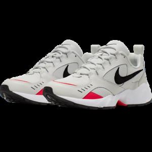 Scarpe-Nike-Air-Heights-Retro-Grigia-per-Uomo-Swoosh-Black-Sneaker-Ammortizzate