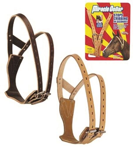 Weaver Leather Horse Pony Draft Barn Cribbing Miracle Collar Muzzle Guaranteed