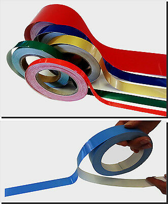 BOOT TOPPING MARINE STRIPING 6mm x 24m BOAT VINYL STRIPES TAPE COVELINE