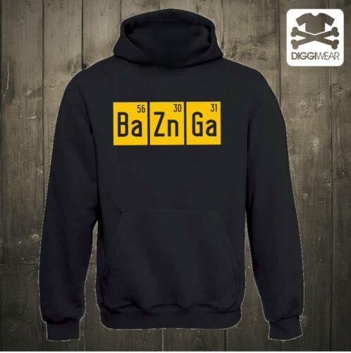 BaZnGa FORMELSHELDON COOPERthe big bang theory HOODIE KAPUZENPULLOVER