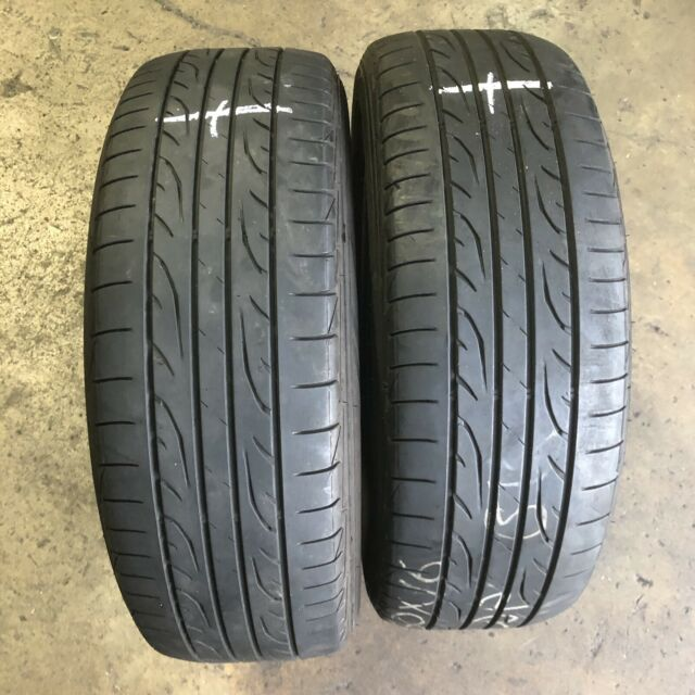 205/60R16 - 2 used tyres DUNLOP SP SPORT LM704 : $70.00