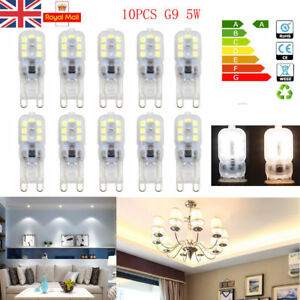 5X-10X-G9-LED-Bulb-Lights-8W-5W-Replacement-Dimmable-Bulbs-220V-240V-UK-Stock
