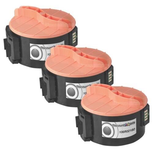 3 pack 106R02180 Black Printer Toner Cartridge for Xerox Workcentre 3045 3045ni