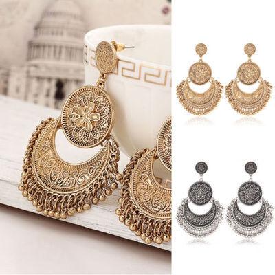 Earrings Fashion Women Rhinestone Elegant Drop Dangle Ear Stud Jewelry Bohemia