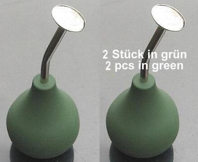Gießen 1 Brause lang BONSAI Ballbrause grün kurz z