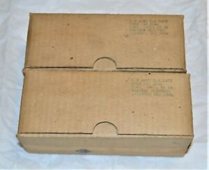 2-NOS-WESTERN-ELECTRIC-394A-engraved-base-tubes