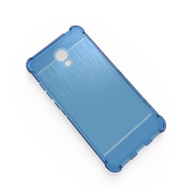Cover TPU Gel Meizu M6 Meilai 6 Silicone Anti Shock Blue
