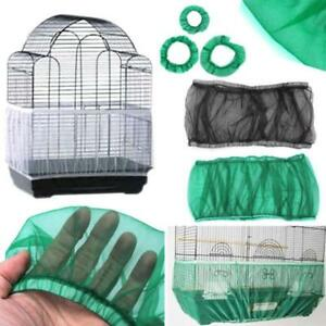 Mesh-Pet-Bird-Cage-Seed-Catcher-Tidy-Guard-Cover-Shell-Skirt-Net-Basket-MP