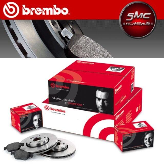 BREMBO Bremsenkomplettsatz Scheiben + Beläge VW Polo (9N_) 256 mm VORN belüftet