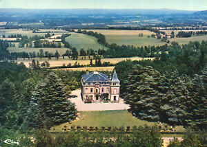 Carte-SOREZE-Vue-aerienne-Chateau-de-Cahuzac-Maison-de-Repos