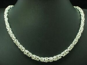 835-Silver-Chain-Necklace-Men-Necklace-Real-Silver-45-1cm-29-7g