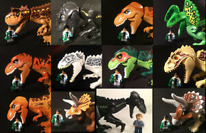 New Indoraptor ! Tyrannosaurus Park works with Jurassic world Lego toy Dinosaurs