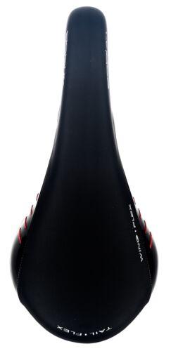 FI/'ZI:K Fizik Gobi XM Kium 7mm Rail MTB Saddle Gloss Black Red line Black New