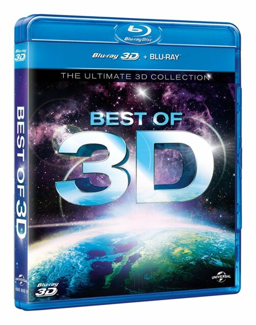 BEST OF 3D: The Ultimate 3D Collection [Blu-ray 3D] Showcase Demo Disc for  HDTV
