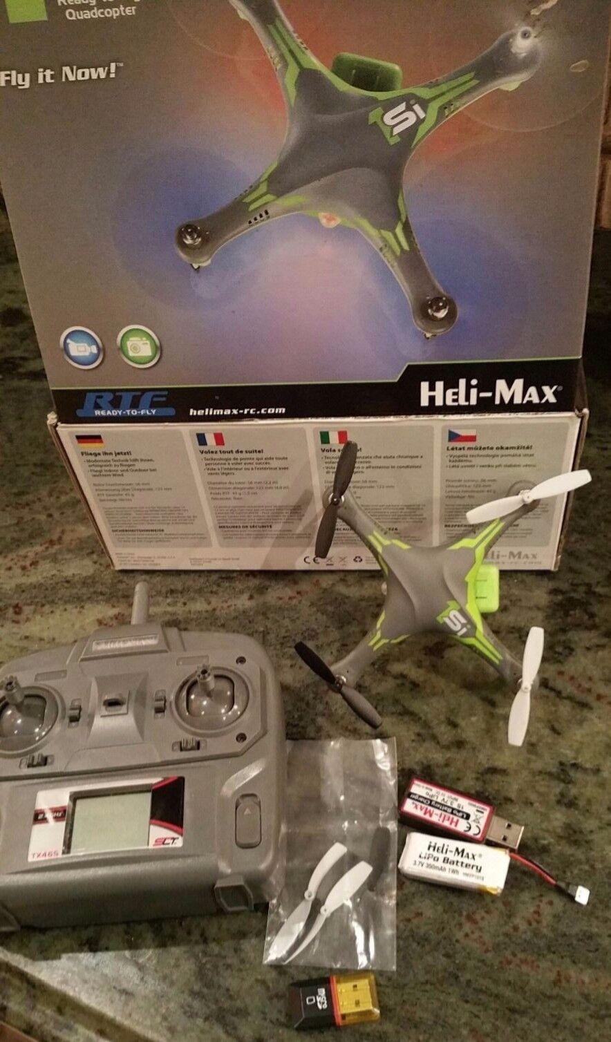 Heli-Max 1Si ReadyToFly Quadcopter, Drone, Video Camera + Auto Return HMXE0832