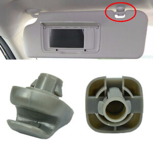New-2x-Sun-Visor-Support-Retainer-Clip-For-Honda-CR-V-Civic-Accord-Odysse2