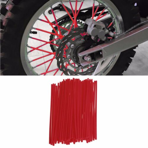 "18/""-21/"" Rim Front /& Rear Wheel Spoke Wrap Cover Skin Kit For Honda CR YZ KX CRF"