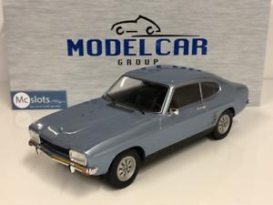 Ford-Capri-Mk1-1973-Bleu-Clair-1-18-Echelle-Model-car-Group-18084