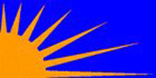 SUNBURST flag 5ft x 3ft