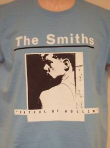 1ed233be MENS THE SMITHS 'HATFUL OF HOLLOW' T SHIRT IN BLUE S, M L, XL, XXL ...
