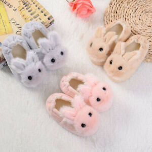Toddler-Child-Kid-Baby-Winter-Shoes-Boys-Girls-Cartoon-Soft-Soled-Slippers-Shoes