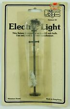 Vintage Miniature House Electric Light Street Lamp NIB